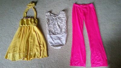 Dance Costumes Cosplay Halloween 10 Outfits Assorted Youth Child Medium