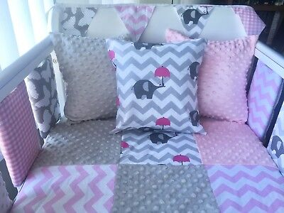 """12"""" Handmade Cushion Cover Pink Dimple 💗"""