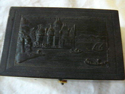Vintage Musical Box Lake Of Geneva Bakelite Or Similar
