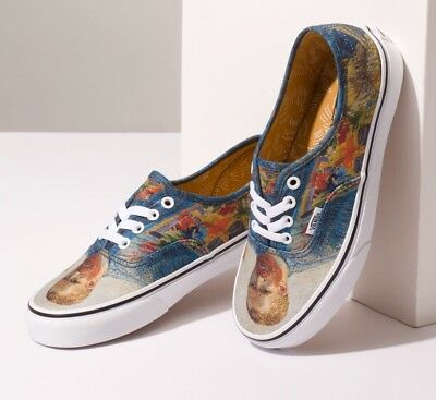 NIB Vans Limited Vincent VAN GOGH Authentic (Self Portrait) - Last few pairs!