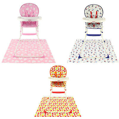 Folding Compact Baby High Chairs Red Kite Children's Feeding Seats Highchair New