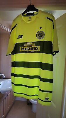 Glasgow celtic away shirt large bnwt