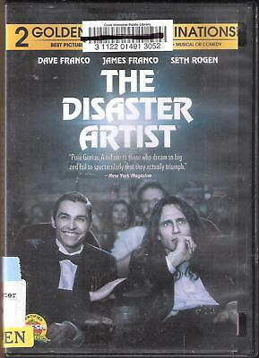 The Disaster Artist (DVD, 2017) Ex library. No Bluray No Digital.