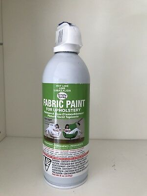 Simply Spray Soft Fabric Paint HOT LIME 226g