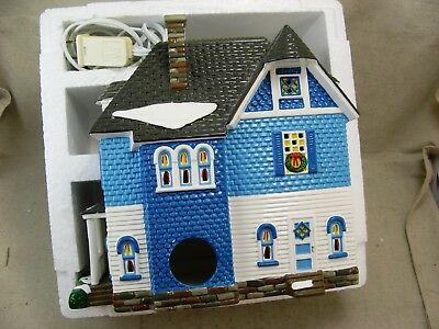 Department 56 Snow Village Shingle Victorian American Architecture Series 54884