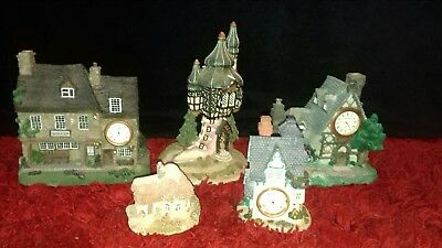 Job Lot Of Ceramic Clock Houses & Others