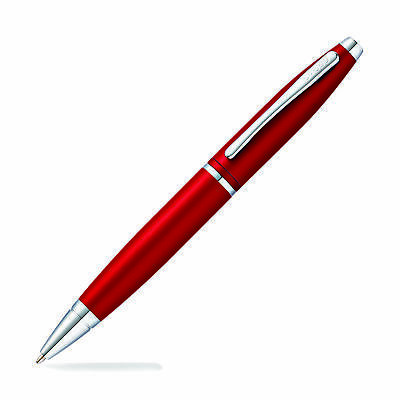 Cross Calais Ballpoint Pen - Matte Metallic Crimson - Premium Gift Box AT0112-19