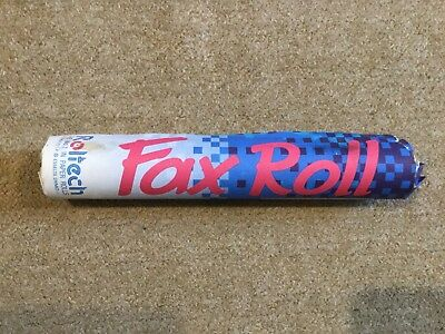 Fax Paper Roll, 210mm x 15m, Roltech, Unused.
