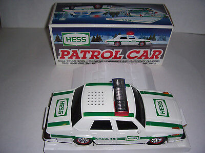HESS 1993 TOY Patrol Car with BOX