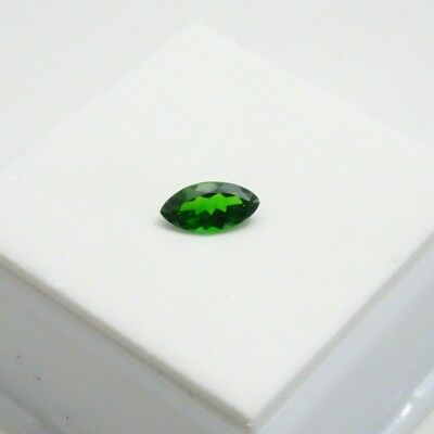 Marquise Cut - Russian Chrome Diopside 0.50ct+ 8x4mm - Loose Gemstone