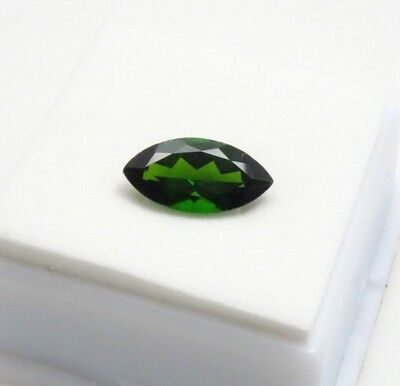 3.0ct Marquise Cut - Russian Chrome Diopside -14x7mm - Loose Gemstone
