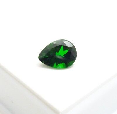 Stunning! 3.85ct Russian Chrome Diopside - Pear Shape - 12x9mm - Loose Gemstone