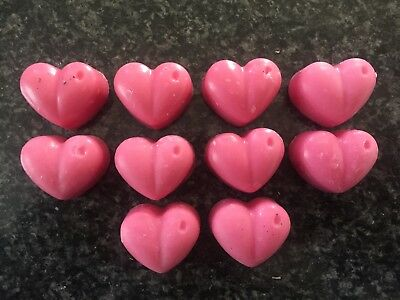 WAX MELT HEARTS PERFUME SCENTS  ❤️ Highly scented Soy wax