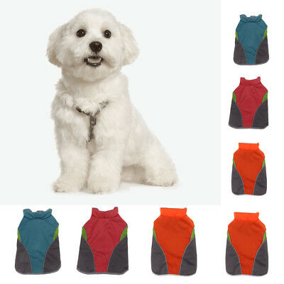 Puppy Dog Cat Clothes Jacket Winter Warm Sweater Cozy Coat Costume Apparel