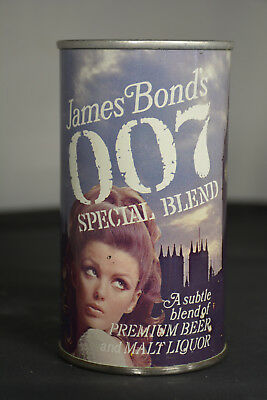 James Bond's 007 Special Blend pull-tab can. *NICE EXAMPLE of NB-600*
