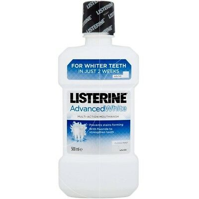 Listerine - Advancedwhite bain de bouche Multi-action - 500ml
