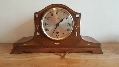 Attractive 1930's Westminster Chiming Mantel Clock