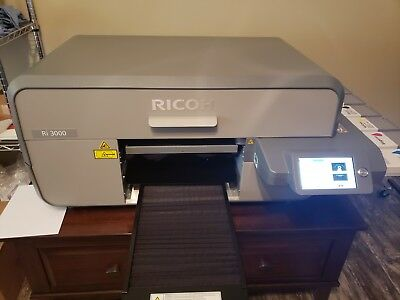 Anajet/Ricoh RI 3000 Direct to Garment Printer for T-shirts, Hats, Shoes & Other