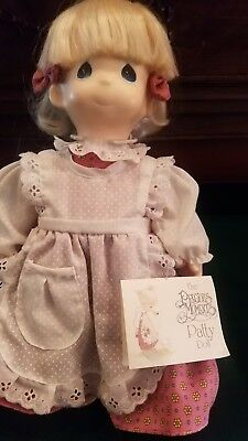 """Precious Moments 14"""" Plush Doll.  Patty. super cute with a message Happiness is"""