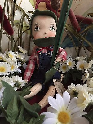 Joe Spencer Gathered Traditions Fergus Frog w/ Hand Painted Face (FGS71532)