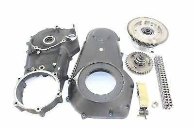 11 Dyna Street Bob Primary Drive Gear Basket Clutch Cover Compensator Set Covers