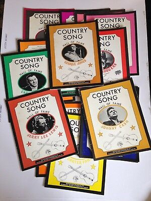 Job Lot 15 Country Western Books Piano Guitar Vocal Score Johnny Cash Etc
