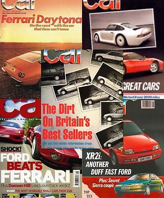 CAR Magazine Over 400 Issues 1970's to 2018 Huge Collection
