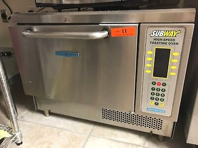 TurboChef Tornado NGC Commercial Oven High-Speed Toasting Oven Subway