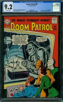 Doom Patrol 86 CGC 9.2 - OW Pages - 1st Issue
