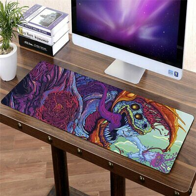 90x40cm Hyper Beast XXL Large Gaming Mouse Pad Desk Mat Laptop Keyboard Non-Slip