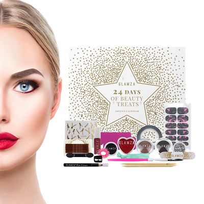 Beauty Advent Calendar 2019 for Women - Make Up Cosmetic Treat Vanity Case Box