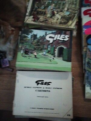 Old Giles annuals from late 1960s to early 2000 29 titles in all 2 copies (20)