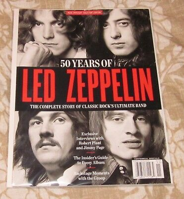 Music Spotlight Collector's Edition 50 Years Of Led Zeppelin Free Ship