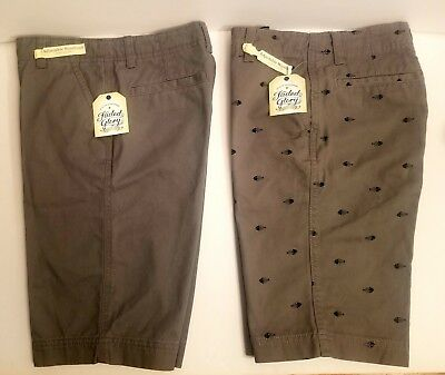 Boy's Faded Glory Shorts Size 12 Lot of 2