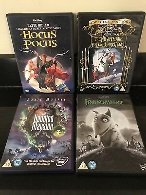 disney halloween dvd bundle job lot hocus pocus nightmare christmas kids set