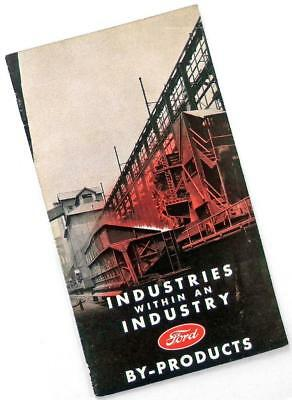 """1939 FORD MOTOR CO. """"Industries Within an Industry"""" brochure GREEN ECOLOGY"""