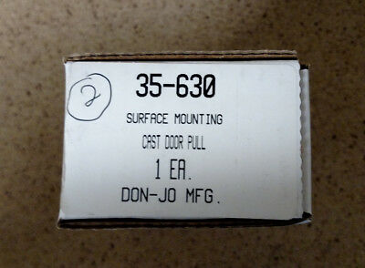 Don-jo 35-630 Surface Mounting Cast Door Pull FAST FREE SHIPPING USA!!!