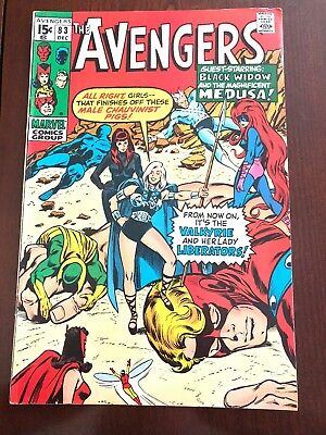 The Avengers #83 (Dec 1970, Marvel)