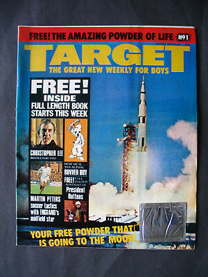 Target Comic/Magazine No1 with free gifts