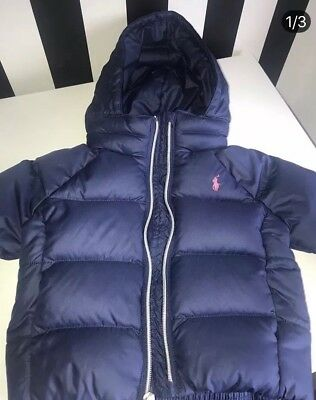 baby girl ralph lauren 12 months Coat