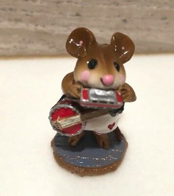 Wee Forest Folk ONE-MOUSE BAND M-196a Exclusive Ltd. Ed. Special Whimsey Hollow
