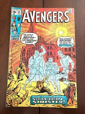 AVENGERS #85 (MARVEL, 1971) First appearance of the Squadron Supreme