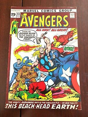 The Avengers #93 (Nov 1971, Marvel)