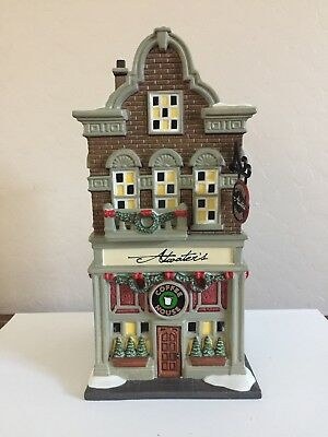 Department 56 Christmas in the City atwater's coffee house #4025245