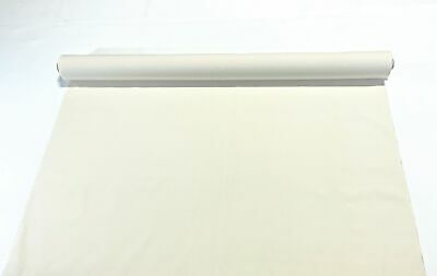 "Natural White 100% Cotton Canvas Duck Fabric 62"" Wide 7 oz. Upholstery Soft"