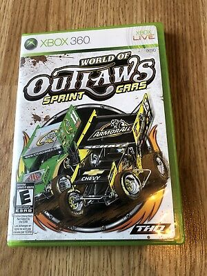 World of Outlaws: Sprint Cars (Microsoft Xbox 360, 2010) Works VC1