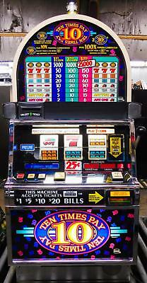 Igt S-2000 Reel Slot Machine: Ten Times Pay