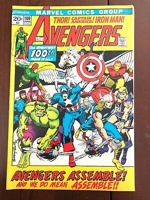 The Avengers #100 (Jun 1972, Marvel)