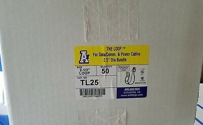 """Arlington The Loop Cable Support Hanger TL25 - 2.5"""" - Box of 50"""