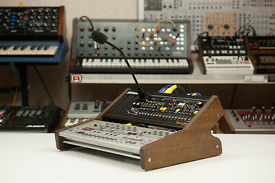 Roland Boutique Duo Stand Low Real Wood Dark oak TB-03 TR-09 SH-01A